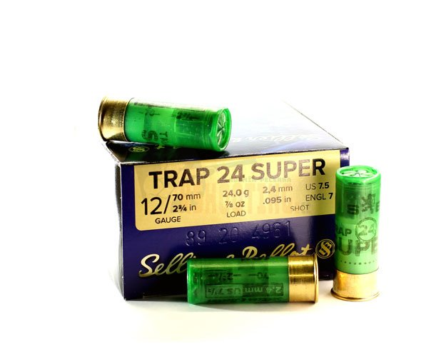 Náboj S&B 12x70 TRAP 24 Super 2,4mm